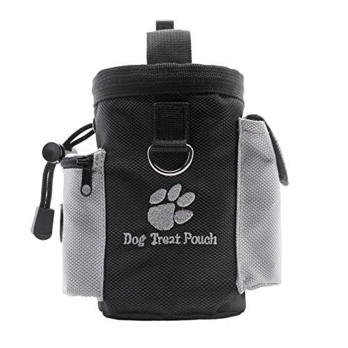 Demarkt Futterbeutel für Hunde Training Futtertasche Hundtraining Hunde Futterbeutel Leckerlies Leckerlitasche für Hunde Futterbeutel Dog Treat Pouch