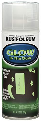 Rust-Oleum 267026 Glow in The Dark Spray Paint, 10 oz