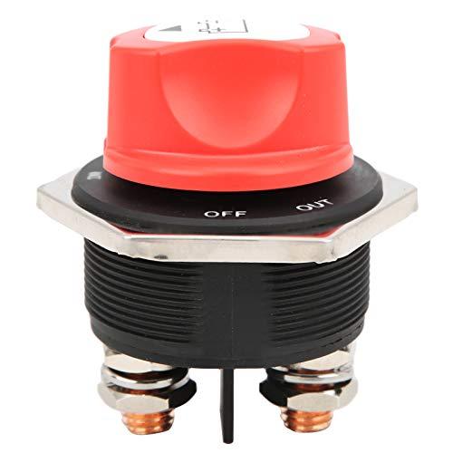Interruptor de apagado de batería, ABS + Metal 300A DC32V Protección de aislador de batería Interruptor de apagado de encendido para motocicletas de automóviles, camiones, vehículos recreativos, barco