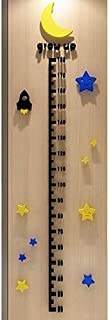 Children Height Measure Stickers 3D Funny DIY Acrylic Height Chart Sticker For Kids Room Wall Door Decorations For Living ...