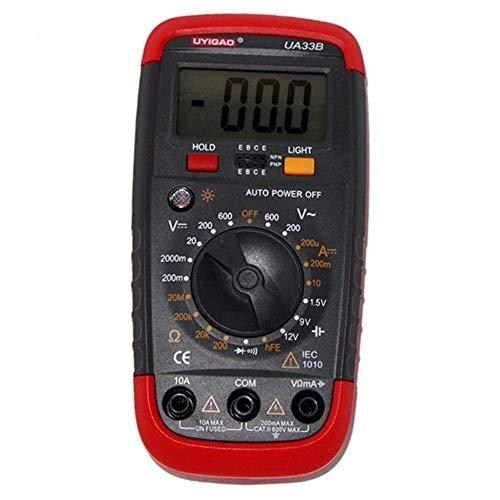 Yongenee Precisa UA33B multímetro digital Resistencia DC AC Herramientas industriales