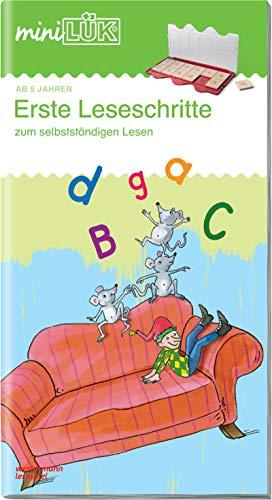 miniLÜK-Übungshefte: miniLÜK: Vorschule/1. Klasse - Deutsch: Erste Leseschritte: Vorschule /...