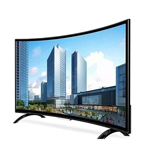 HDR Curvo de 32/50/55 Pulgadas Televisores Smart TV 4K, Ultra HD HDR Smart Android TV VGA Incorporado USB AV HDMI RF WiFi Televisión 60Hz