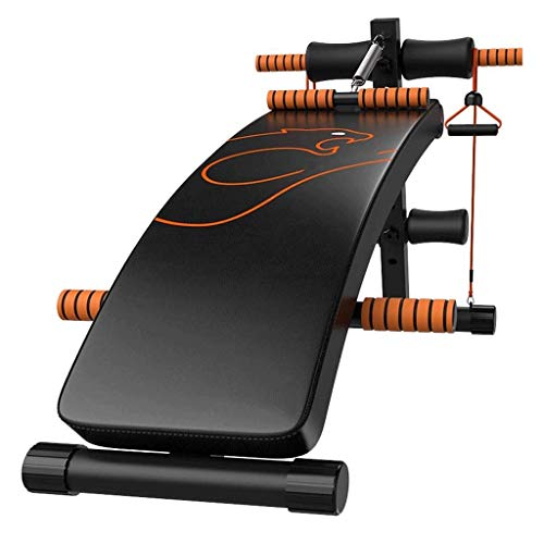 Find Bargain DEJA Sit-up Board, Multi-Functional Supine Board Training Abdominal Muscles Fitness Mac...