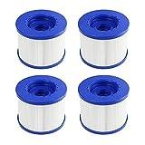 YXLM - Cartucho de filtro de piscina, cartucho de filtro de tornillo para spa hinchable, paso de tornillo de 60 mm, para Aquaparx Aqua Spa para Costway...