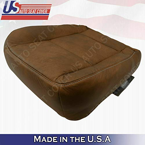 2002 to 2007 Compatible with Ford F250 F350 4X4 Driver Side Bottom King Ranch Leather Seat Cover