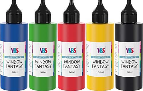 VBS Window Fantasy Set « Basic », 5 x 85 ml