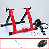 Magnetic Turbo Trainer con l'inerzia a rotelle, pieghevole Indoor Bike Trainer, Bike magne...