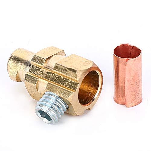 Conector rápido conveniente, resistencia a la oxidación Resistencia a la temperatura Tornillo hexagonal Accesorios de herramientas de aire hechos de cobre (rojo)