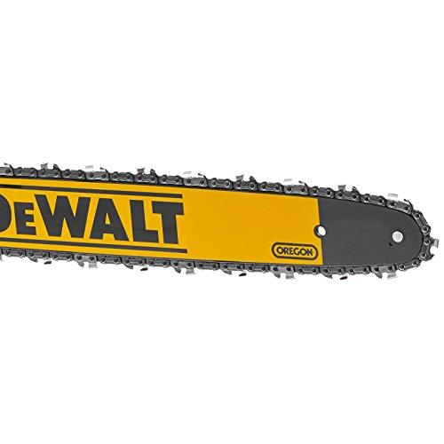 Dewalt DT20661-QZ Schwert mit Saegekette, 46 cm, Schwarz/Gelb