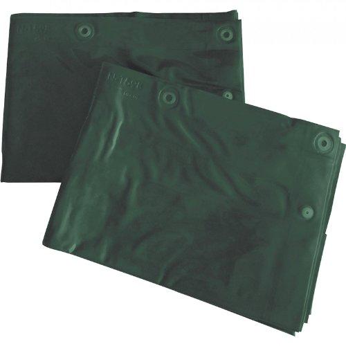 CEPRO Schweißvorhang gemäß DIN EN ISO 25980 (EN 1598), Größe:200 x 140 cm, Farbe:green-9