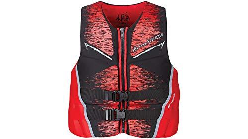 Kent Sporting Goods Co 142500-100-020-19 Full Throttle Life Vest Mens Small Red