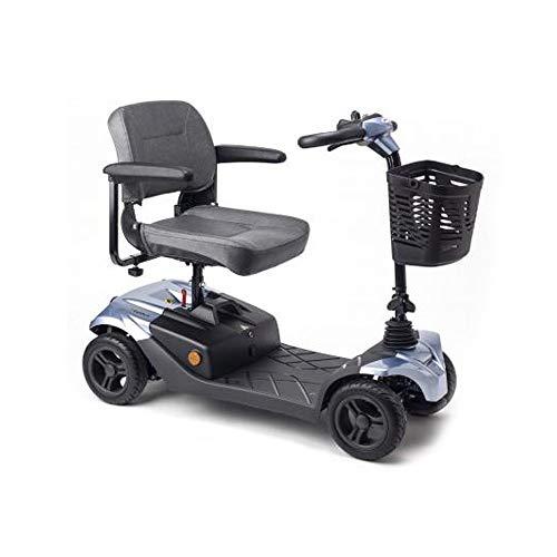 Apex I-Confort, Scooter eléctrica, Desmontable en 4 piezas, Especial para problemas de espalda, Con amortiguadores, Baterías extraíbles para recarga