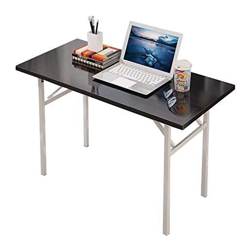 qx Escritorios Mesas Escritorio, Mesa plegable, Mesa de conferencias de oficina Mesa de escritorio para el hogar Mesa de computadora, Mesa de escritorio portátil multifunción,El 120X40X75CM,El 120X40