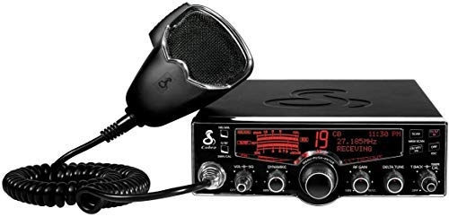 Cobra 29LX Professional CB Radio - Emergency Radio, Travel Essentials, NOAA Weather Channels and Emergency Alert System, Selectable 4-Color LCD, Auto-Scan and Radio Check, Black
