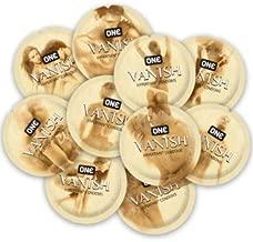 ONE Vanish Hyperthin with Silver Lunamax Pocket Case, Premium Lubricated Latex Condoms-24 Count