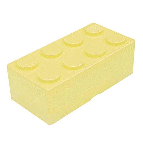 B2.ダイヤブロック ブロックコンテナL ミルキーイエロー