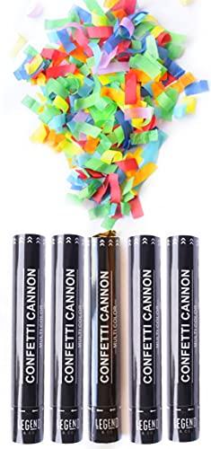5. Legend & Co. Large Confetti Cannons