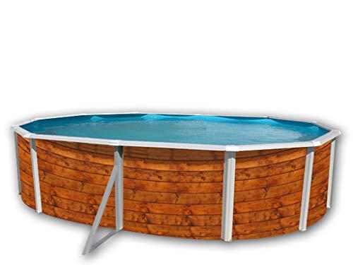 Pool Etnica Oval Deko Holz 5.50x 3.66x 1,20m Dir 8116Kaffeetassen