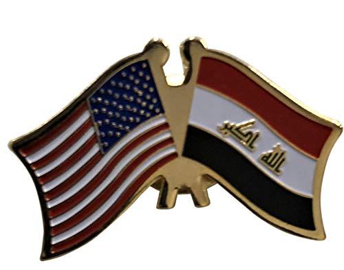 Irak-Flagge Patch & Pin Irak/USA Pin