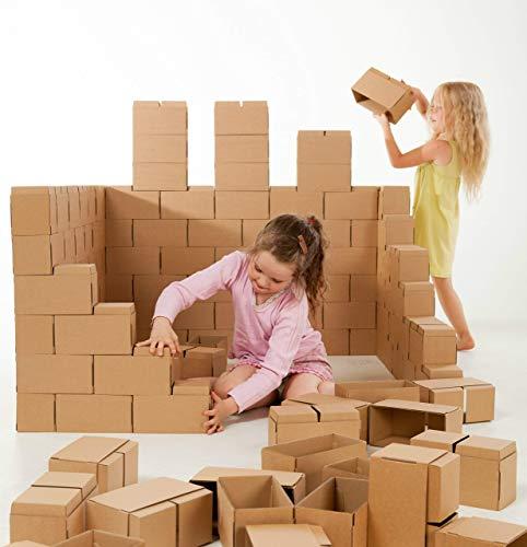 GIGI BLOKS G-2 Dragons Gigi Building Blocks 60 XXL Pieces, Multicol
