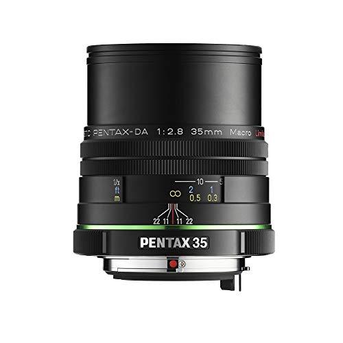 Pentax 21450 - Objetivo para Pentax (Distancia Focal Fija 35 mm, diámetro: 93 mm), Negro