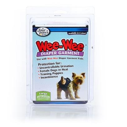 Four Paws Pet Products Wee-Wee Diaper Garment and Garment Pads Fp Diaper Garment Pads 24Ct Clothing & Apparel