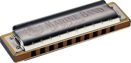 Gaita Harmônica Hohner Marine Band 1896/20 Em C (dó)