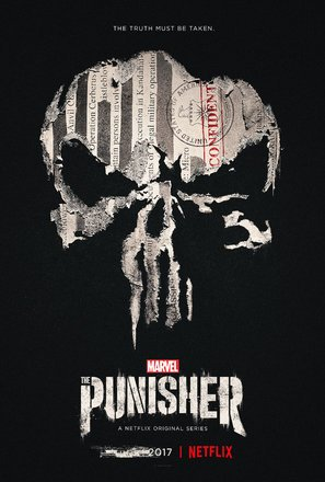 Import Posters The Punisher – U.S TV Series Wall Poster Print - 30CM X 43CM