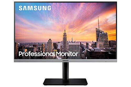 Samsung S24R652 - Monitor profesional de 24'' FullHD (1920x1080, LED, 16:9, 75Hz, 5 ms, 1000:1, 250 cd/m², Eye Saver, D-Sub, DisplayPort, HDMI, USB 3.0, USB 2.0) Gris oscuro