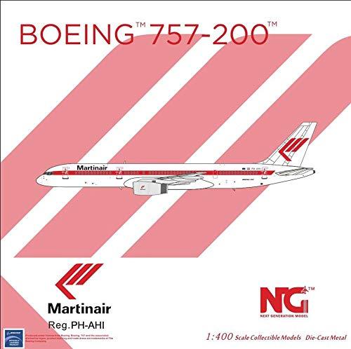 NG Model NGM53147 1:400 Martinair B757-200 Reg #PH-AHI (pre-Painted/pre-Built)