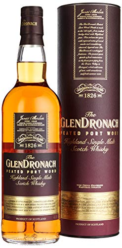 Glendronach Peated Port Wood mit Geschenkverpackung Whisky (1 x 0.7 l)