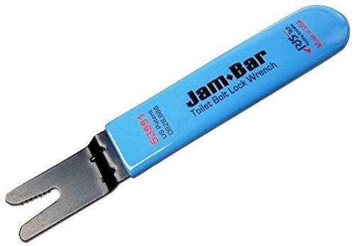 Jam-Bar toilet bolt lock wrench