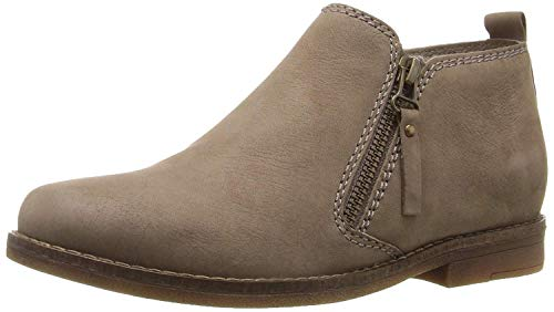 Hush Puppies Women's Mazin Cayto Ankle Boot, Taupe, 8.5 W US
