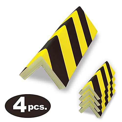 Protector Columnas Garaje - Protector Puertas y paragolpes Coche - 40x20x2cm Autoahesivas
