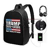 Fai piangere di nuovo i liberali Zaino USB Porta con te Zaino per laptop da 17 pollici per bus da viaggio