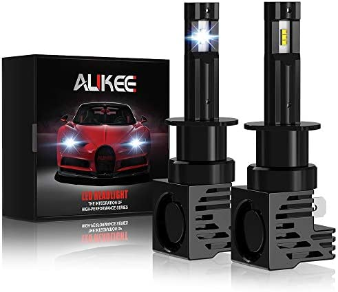 Aukee H1 LED Bulb 12000Lm 6000K 60W Extremely Bright All in One Headlight Conversion Kit product image