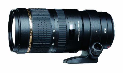 Tamron SP 70-200MM F/2.8 DI VC USD Telephoto Zoom Lens for Canon EF Cameras (Model A009E)