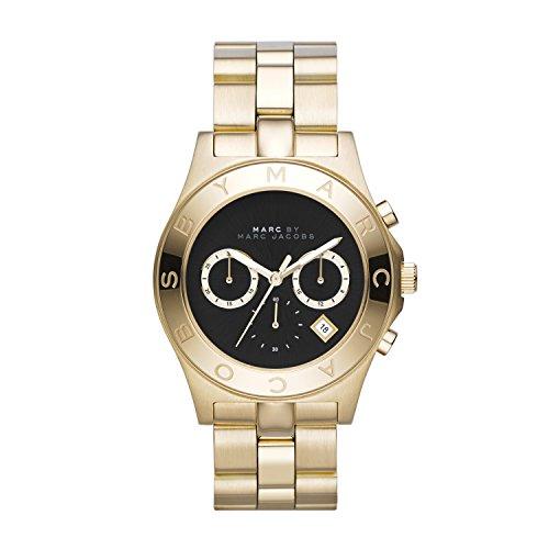 Marc Jacobs Damen-Armbanduhr Chronograph Quarz Edelstahl MBM3309