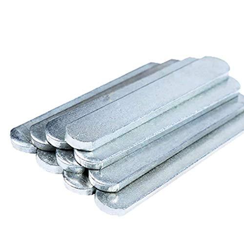 APOE Piastre in Acciaio per Regolabile Gilet Zavorrato/Pesi Caviglie/Pesi per Braccia, Resistenza alla Ruggine e all'ossidazione (1.2kg/2kg)