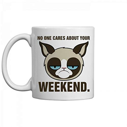 N\A Grumpy Cat Produkte - was auch Immer - Grumpy Cat Benutzerdefinierte weiße Kaffeetasse Teetasse Office Home Cup-Grumpy Cat Mug-Grumpy Cat Kaffeetasse-Grumpy Cat No Mug