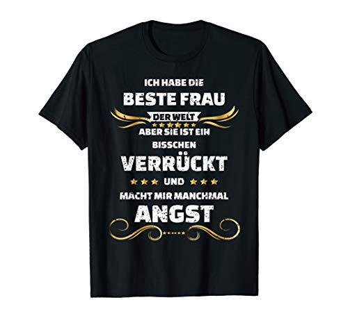 Herren Ich Habe Die Beste Frau Der Welt Als Cooles Lustiges Design T-Shirt