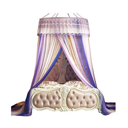 Intérieur Mousseline De Soie Léger Confort D'été Respirant Moustiquaire Auvent Bébé Home Textiles Enfants Princesse Chambre Décoration Grand moustiquaires (Taille : 1.0m)
