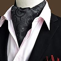 XinQing-ファッションスカーフ スカーフメンズ英国襟ビジネスメンズアクセサリースーツヴィンテージポリエステルスカーフ50.4 *利用可能なさまざまな色の6.3インチ (Color : #4)