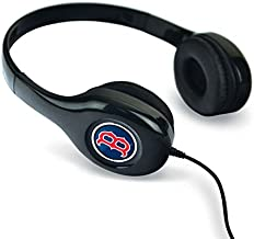 MIZCO SPORTS 1 Pc, Boston Red Sox Headphones - Over The Ear With Authentic Graphics