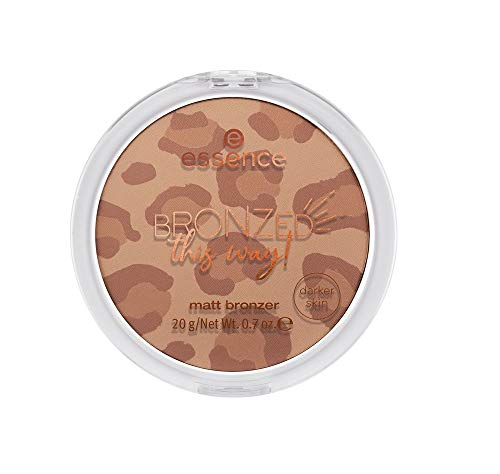 Essence Bronzed this way! matt bronzer Nr. 02 Roar'ing Sun Inhalt: 20g - darker skin - Super soft matt bronzer for darker skin tones. Bronzerpowder