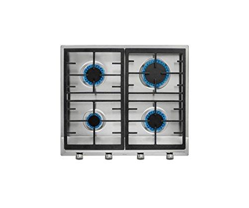 Teka EX 60 1 4G AI AL CI BUT Integrado Encimera de gas Acero inoxidable - Placa (Integrado, Encimera de gas, Hierro fundido, Acero inoxidable, hierro fundido, 1000 W)