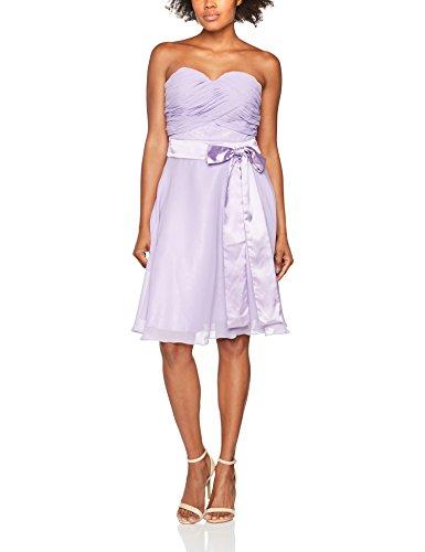 Astrapahl Damen br07005 Kleid, Violett (Lavendel Violett), 36