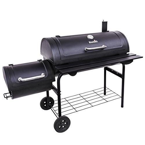 Char-Broil Deluxe Offset Smoker, 40""