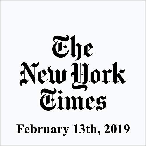 February 13, 2019 copertina